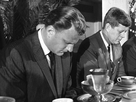 Billy Graham (with jfk)   I LIKE Billy Graham