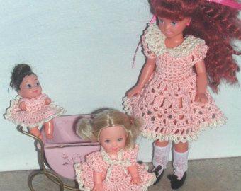 Häkeln Sie Mode Puppe Stacie, Kelly & Krissy Muster - #513 BABYSITTER #2