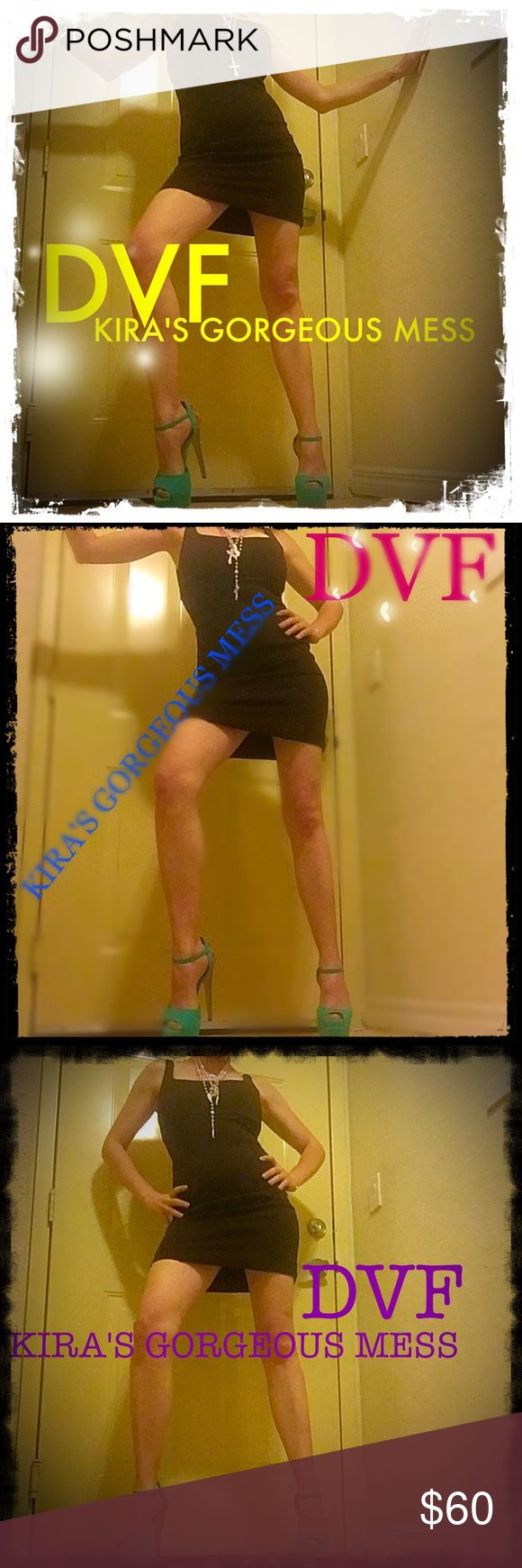 🍒FINAL🍒DIANE VON FURSTENBERG Brown Bodycon Dress Beautiful and elegant DVF Brown Bodycon dress midi which I wear as mini in the pics. If you bunch up a it becomes a mini!!!!! Sexy gorgeous and elegant nobody does is it better than DVF!!!!!!!!! God bless to all😇💕🎉💕 Diane von Furstenberg Dresses Mini