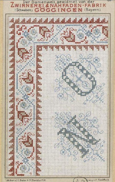 Gallery.ru / Фото #137 - старинные ковры и схемы для вышивки - SvetlanN