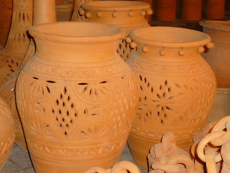Clay Pots In Punjab Pakistan Pottery Ceramic Clay