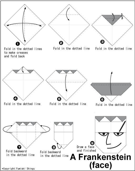 m u00e1s de 25 ideas  u00fanicas sobre origami sencillo en pinterest