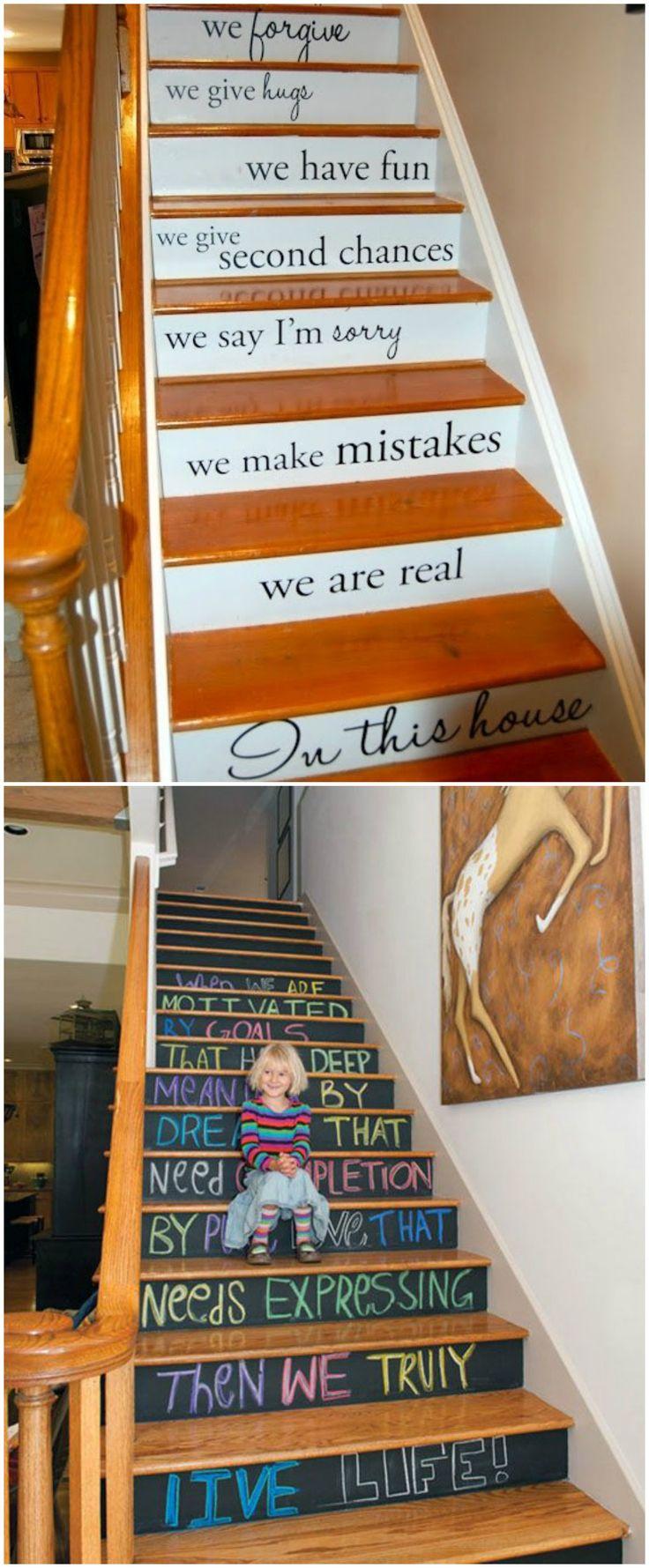 M s de 25 ideas incre bles sobre pintar escaleras en - Pintura para escaleras ...