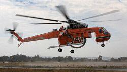 The Erickson Aircrane nicknamed Marty takes off from Jandakot Airport. Picture by Mogens Johansen, The West Australian. 301211. WAN-0005034 © WestPix