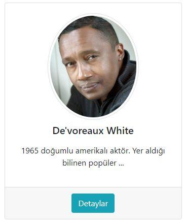 De'Voreaux White
