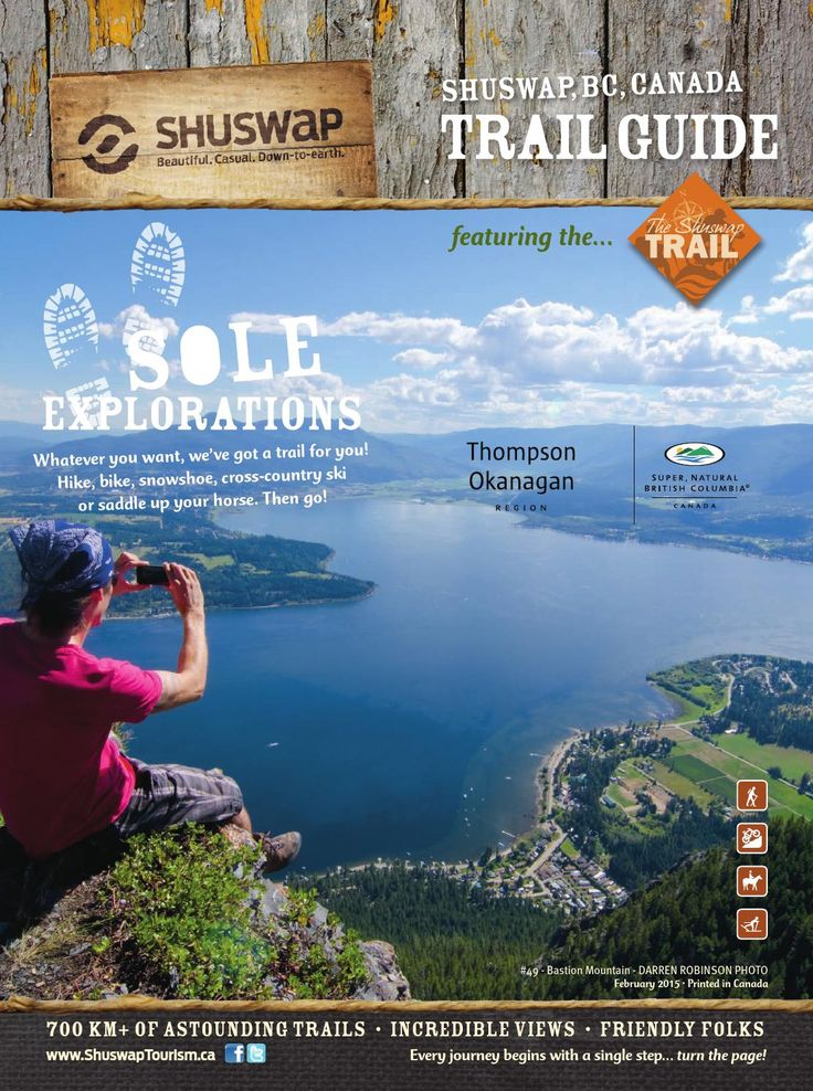 Shuswap Trail Guide 2015 by Breeze - issuu
