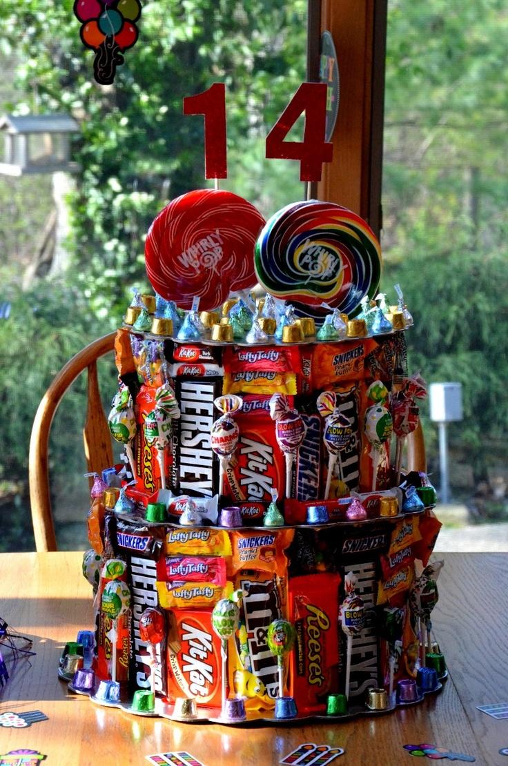 Jeremy's 14th Birthday Candy Cake