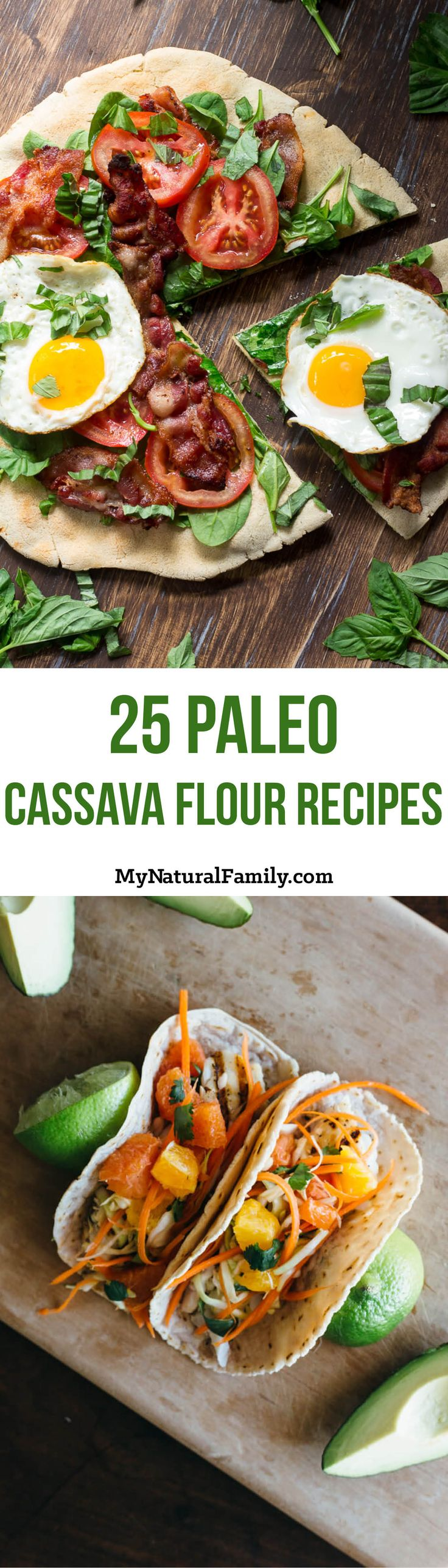 "I'm really like the look of these Paleo cassava flour recipes. They almost look ""normal."" Can't wait to try these!"