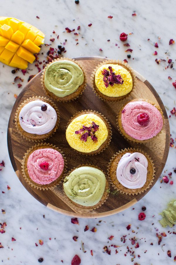 It's easy to make these delicious vegan vanilla cupcakes and homemade food coloring. Perfect for vegan birthday cupcakes, and any special occasion.