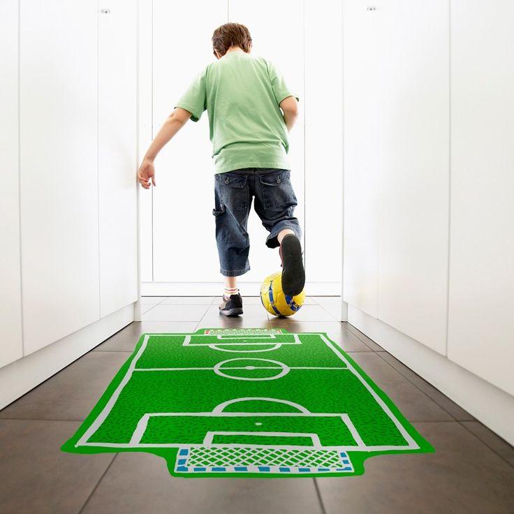 ¿Quiere ser futbolista? Vinilos decorativos para niños Chispum