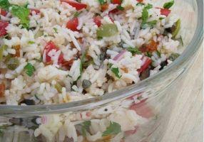 Salade de riz méditerranéenne - Recettes - Cuisine française