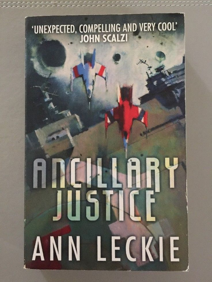 Ancillary Justice by Ann Leckie (Paperback 2014)