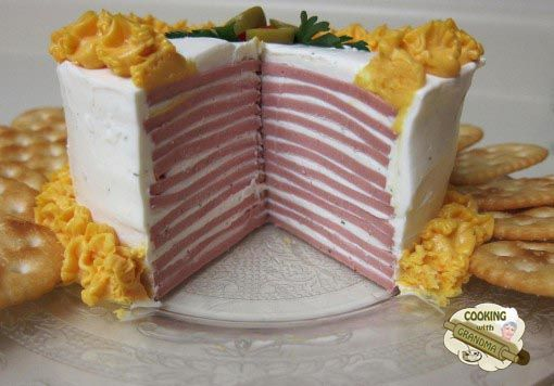 Southern Bologna Cake