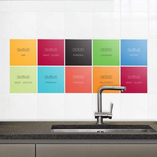 63 best Carrelage adhésif images on Pinterest Bathroom, Organizers - moisissure carrelage salle de bain