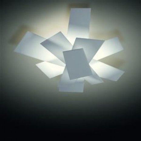 Foscarini Big Bang Soffitto Plafondlamp wit