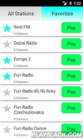 Slovakian Radio Online  Android App - playslack.com , Listen to Slovakia Republic Radio completely free! Many radio stations with different music genres like pop, rock, electro, dance, electro, hip hop, disco, RnB and classic. Examples of stations are:- Radio Slovakia International- Fun Radio Rock- Rádio Frontinus- Fun Radio HipHop- Rádio Šport- Superádio- Rádio Kiss- Rádio Klasikaand others. If you like slovakian and international music, this is the best app for you!