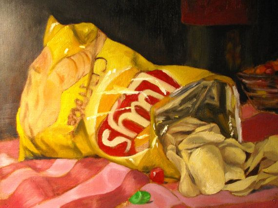 Lays Scene of the Crime by chirtescu on Etsy, $175.00