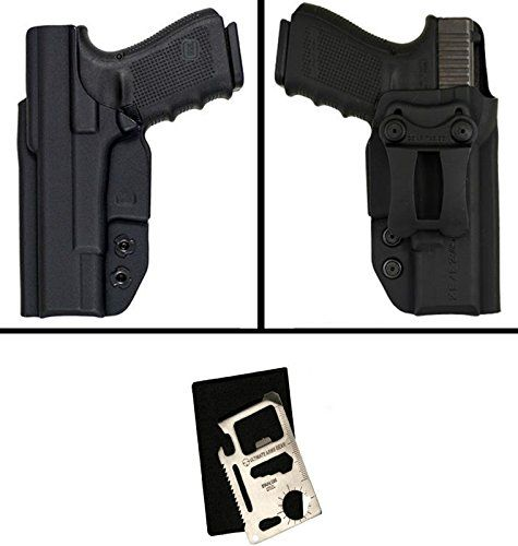 Comp-Tac Infidel Max Sig Sauer P320 / P250 Compact 9mm / .40 Inside The Waistband Kydex Gun Holster, Right + 1.50″ Infidel Belt Clip + Ultimate Arms Gear Survival Multi Tool