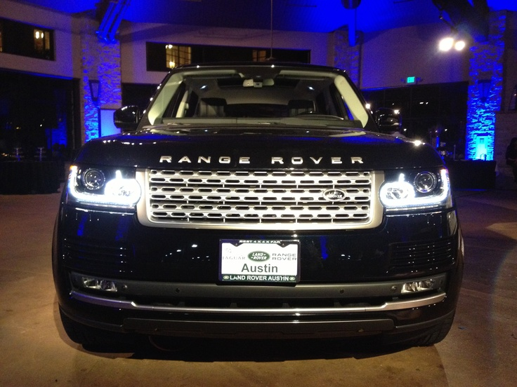 2013 Range Rover Unveil. @Barton Creek Resort & Spa