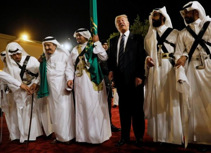 #world #news  Trump sets out Mideast vision: backing Arab strongmen against Iran