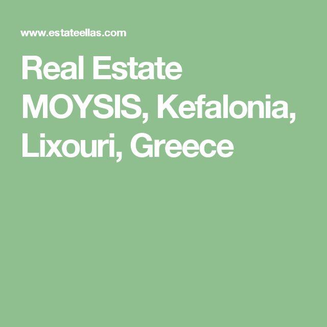 Real Estate MOYSIS, Kefalonia, Lixouri, Greece