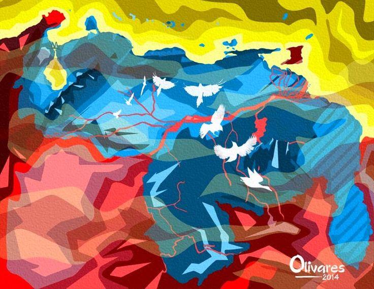 Página web oficial del artista venezolano Oscar Olivares.