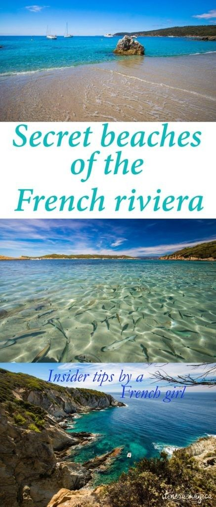 Secret sand beaches of the French Riviera: genuine insider tips to find the best beaches in France! Ultimate Provence tips on a French girl's travel blog