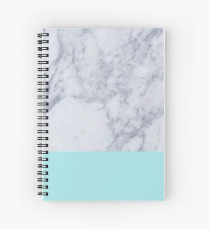 Marble Spiral Notebooks School Notebooks Diy School