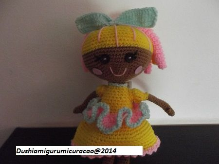 Amigurumi Doll Lalaloopsy Pattern : Best omkeer pop breien images crochet patterns