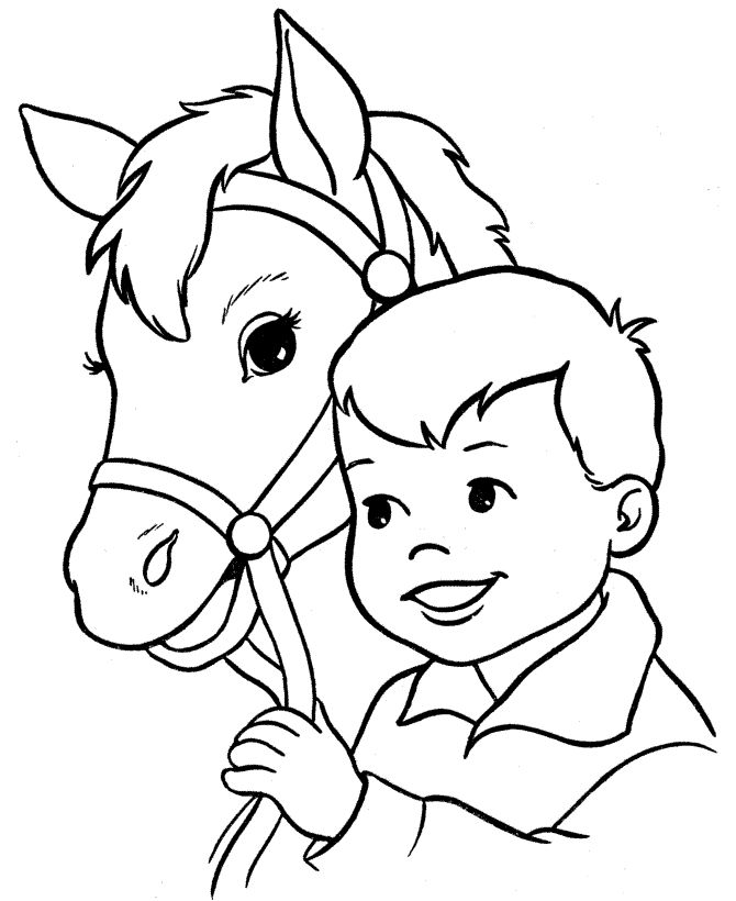 These Free Printable Horse Coloring Pages Of Horses Are Fun For Kids Racoons Cows Chickens Farm And Zoo Animals Just A Few The Many