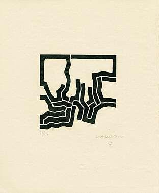 """Eduardo Chillida (1924 - 2002), aus """"Jorge Guillén: Más Allá"""", 1973"""
