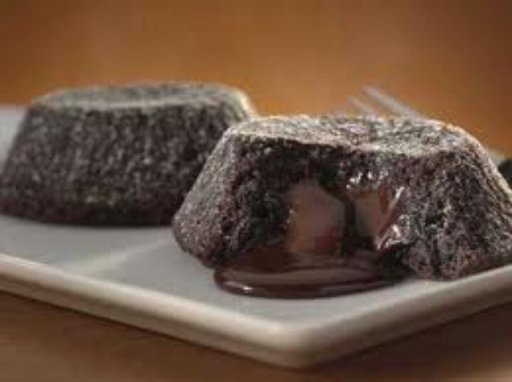 Molten lava crunch cake. They're to die for XD love them! Google image