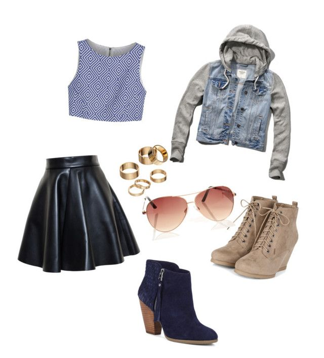 """""""Fresh"""" by shaye1z ❤ liked on Polyvore featuring MSGM, Alice + Olivia, Abercrombie & Fitch, Apt. 9 and Sole Society"""