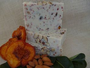 Orange & Sandalwood with Peaches & Almonds - Clarry's Pure Olive Soap