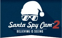 Prove Santa exists! #proofofsanta Catch him on Camera with Santa Spy Cam for Android and iOS phones. You'll see him on video in your house.