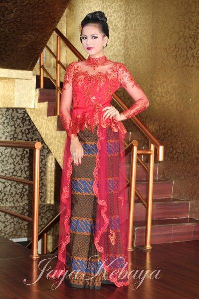Kebaya Modern wedding dress Indonesia.Keaya Modern dress 2015,kebaya modern…