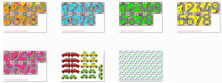 """Настольные игры для мальчиков своими руками, развивающая настольная игра """"Гонки"""" для изучения цифр, сложения и вычитания"""