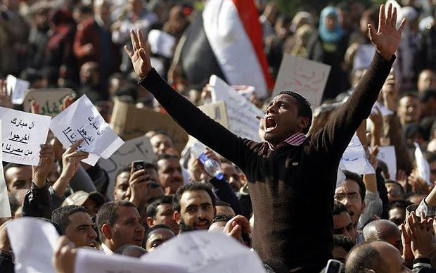 "Egypt in crisis: protesters call for ""million man march""  - Telegraph"