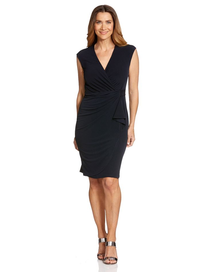 Solid Venus Shift Dress - from JacquiE (this is actually french navy - not black!)