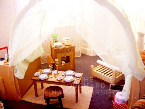 Natural home corner Steiner style education / early childhood / kindergarten