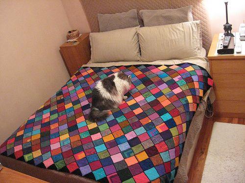 Ravelry: elyoung's Sock Yarn Blanket