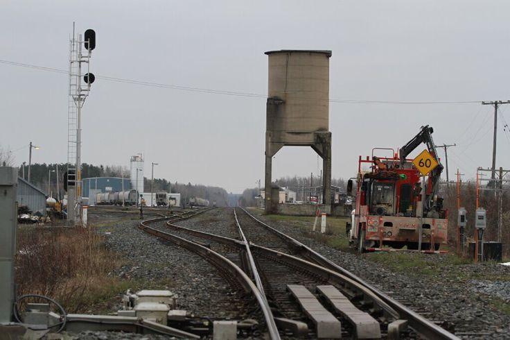 Northern  Ontario Rail Crossing