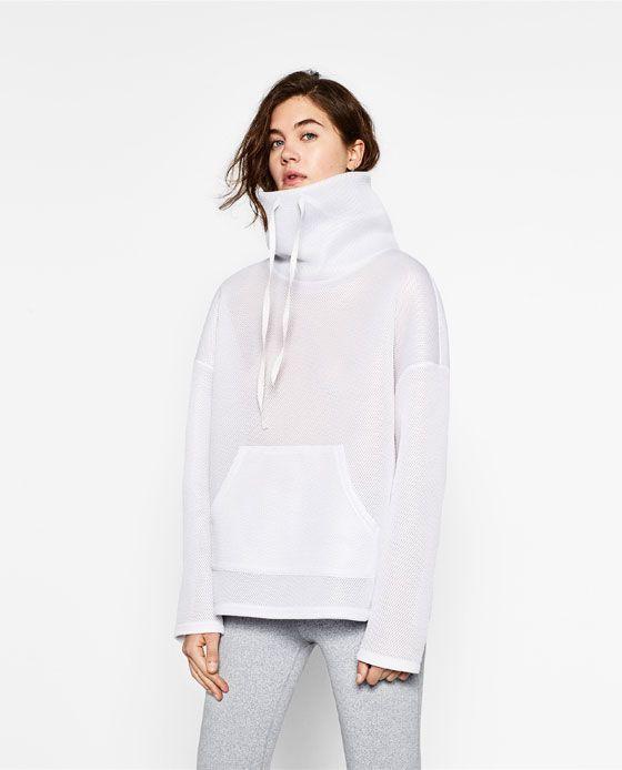 Image 1 de SWEAT À COL MONTANT de Zara