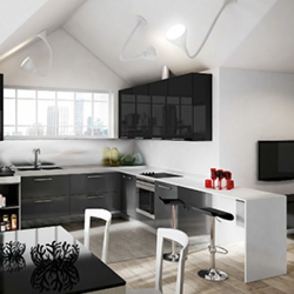 The Plan kitchen range from Berloni displays linear, essential lines as guiding concepts. Volumes and pure shapes define space through precise geometric rigour as an evident synonym for trendy, refined spaces. A cost effective range that offers solutions for the individual as well as development projects and the hospitality industry.