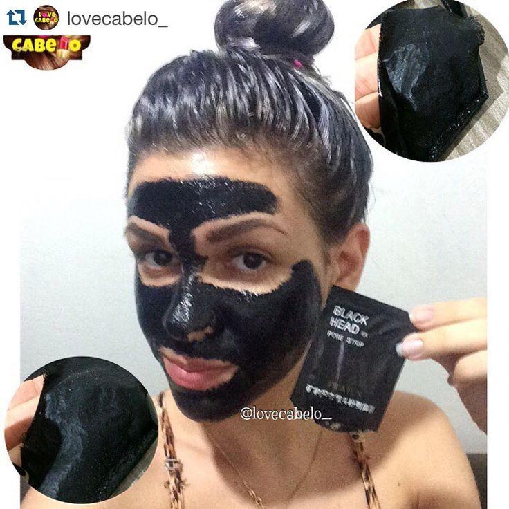 Óleo de rícino e óleo de coco na cabeça e máscara preta na cara pra tirar os cravos.