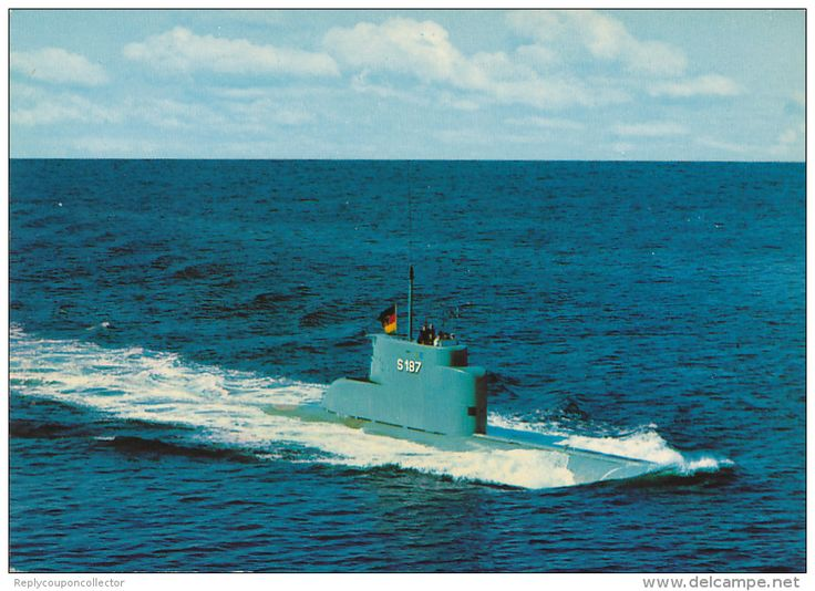 Bundesmarine - U 8 / S187 - Submarinos