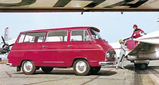 1969 Škoda typ 1203 Mikrobus