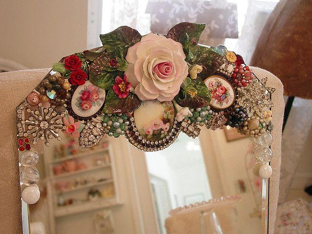 China rose close up! | Pinterest | Mosaics, Crafty and Mosaic projects