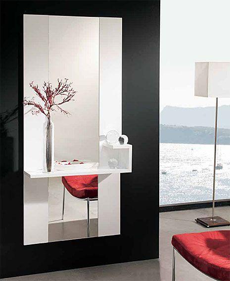 15 best recibidores images on pinterest mirrors for Recibidores modernos