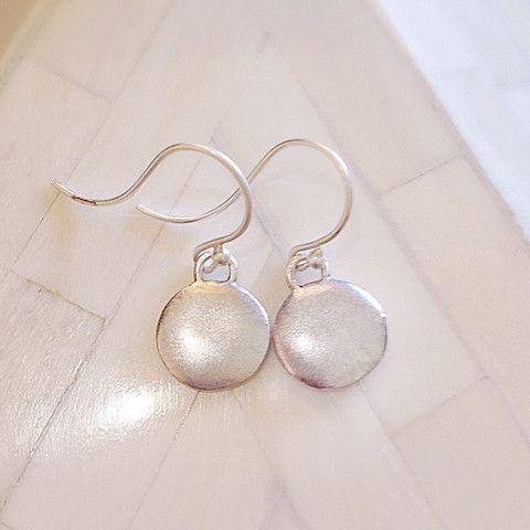 Monsoon Earrings Silver – Eran Naylor Jewellery